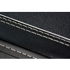 Guitar case - black hardshell  - G & G - vintage style - black interior