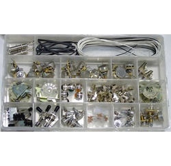 Electronic parts assortment box