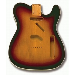 Replacement body for Tele - finished - edge binding