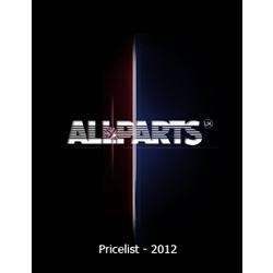 Allparts - UK retail pricelist March 2012