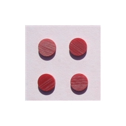 Reconstituted fingerboard inlay dots - 1/4 inch (6.35mm)