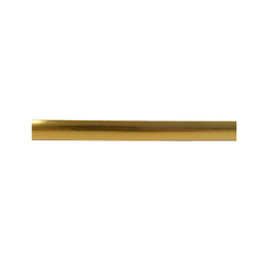 T-Section Insert Fascia gold strip (1 yard lengths)