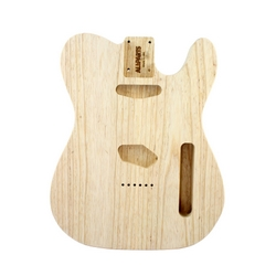 Replacement body for Tele - no finish - Ash