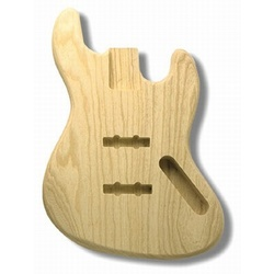 Replacement body for J Bass - no finish - Swamp ash