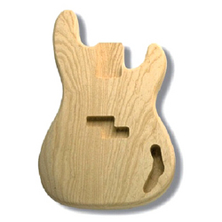 Replacement body for P Bass - no finish