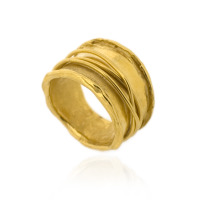 B-R02gp Paper Ring, Gold