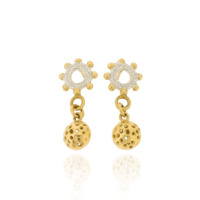 T-E20 Wheel Studs with Gold-Plated Small Charms