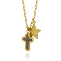 N-N04 GP Fine Belcher with GP Hammered Star & Oxi & GP Bobble Cross