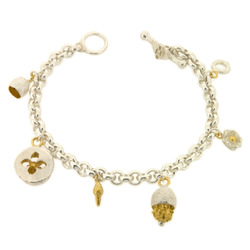 B-B02 6-Charm bracelet