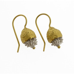 B-E01 Gold-Plated Gumnut hooks