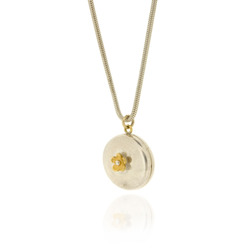 B-N30 Round Locket Necklace