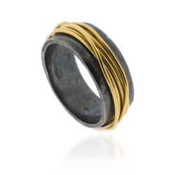 B-R03oxi Oxidised Wrapped Ring