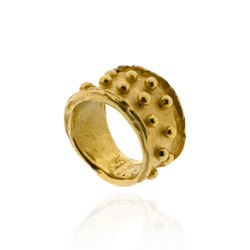N-R03 Fully Gold-Plated Bobble Ring