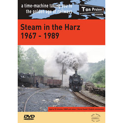 Steam in the Harz   1967-1989  DVD • 52 mins •