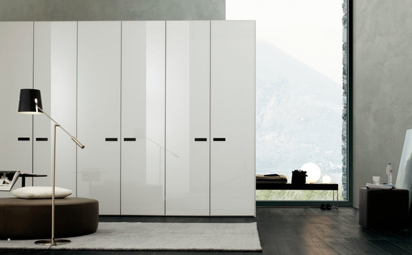 Vitria three door hinged wardrobes