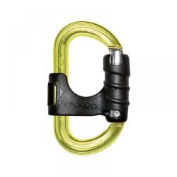 AustriAlpin - Ovalock belay biner + clip