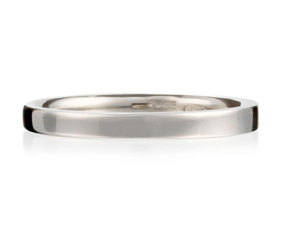 Original Wedding Rings on Twist On The Original Fairtrade Wedding Ring With A Flat Outer Surface