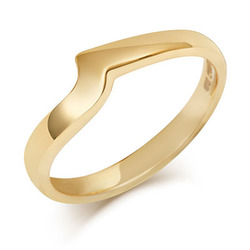 Flat Sweep Wedding Ring