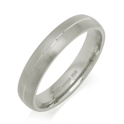 Engraved Court Wedding Ring