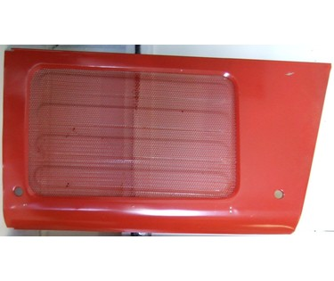 Side grill panel for Massey Ferguson 300 series (Left hand side )