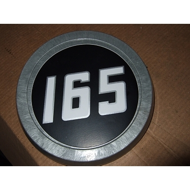 Medallion set (pair)  for Massey Ferguson 165 tractor