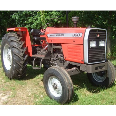 Tractors built from new parts