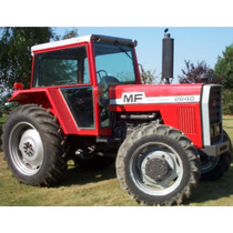 Massey Ferguson 2620 four wheel drive, 1982-1984, 95hp