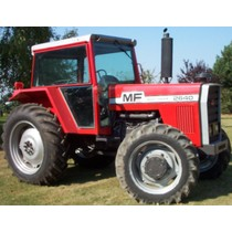 Massey Ferguson 2680 four wheel drive, 1980-1984, 130hp