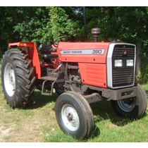 Massey Ferguson 390 built entirely from new parts, 77hp