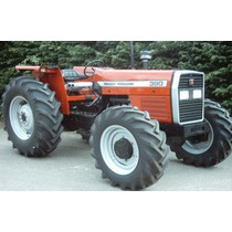 Massey Ferguson 390 four wheel drive, 1987-1997, 77hp