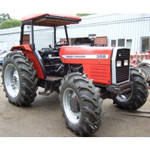 Massey Ferguson 390T/398 four wheel drive, 1987-1997, 95hp