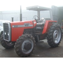 Massey Ferguson 590 four wheel drive, 1976-1981, 77hp