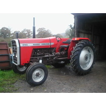 Massey Ferguson 290 built entirely from new parts, 77hp