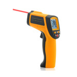 ADVANCED NON-CONTACT INFRARED THERMOMETER WITH LASER TARGETING AND EMISSIVITY ADJUSTMENT