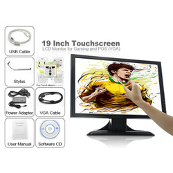19 Inch Touchscreen LCD Monitor for Gaming and POS (VGA)