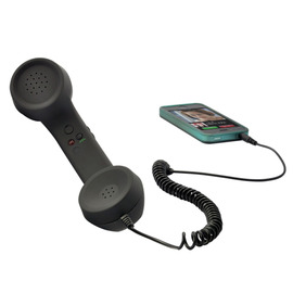 Retro Handset for iPhone, Android Smartphones, Mobile Phones, iPad (3.5mm)