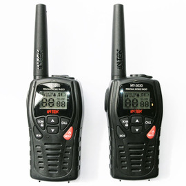 Intek mt-3030 pmr446 2 way radio x 2 with chargers and earbuds / mics