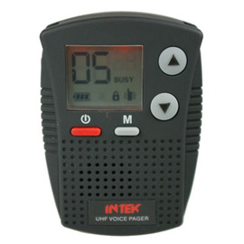 Intek rp-600 voice pager for motorcycle instructors