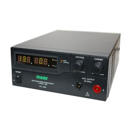 Maas hcs-3600 bench power supply 1-15v dc / 0-60a