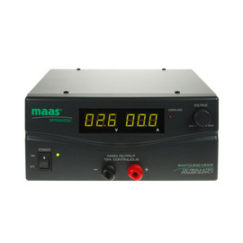 Maas sps 9252 bench power supply 3-30v dc 12a