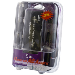 Sumvision - Auto Universal Laptop AC Charger Adapter - 9 Connectors - 95W