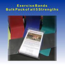 Exercise Band - Pack of all 5 strengths