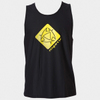 Mystic Star Quick Dry Loosefit Tanktop - Black