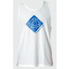 Mystic Star Quick Dry Loosefit Tanktop - White