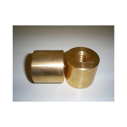 Bronze Round Left Hand Lead Single Start Nut