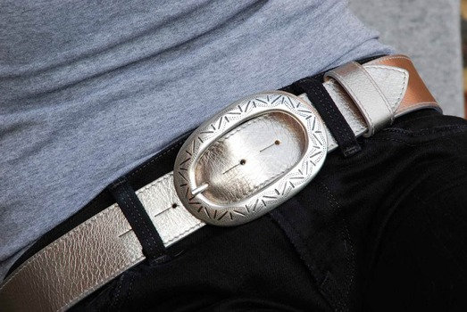 silver mexican belt buckle
