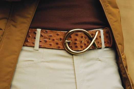 Brass twist buckle