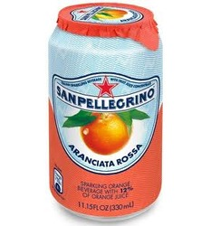 San Pellegrino Blood Orange Soda Can 33cl