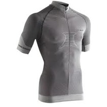 X-Bionic Fennec short sleeve silver jersey