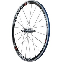 Shimano WH-7900 Dura-Ace clincher wheel, carbon 35 mm deep - front